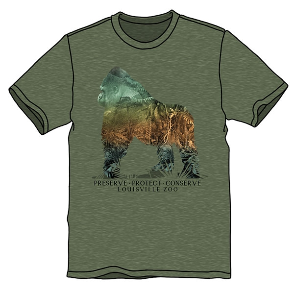 ADULT SILVERBACK PROTECT TEE