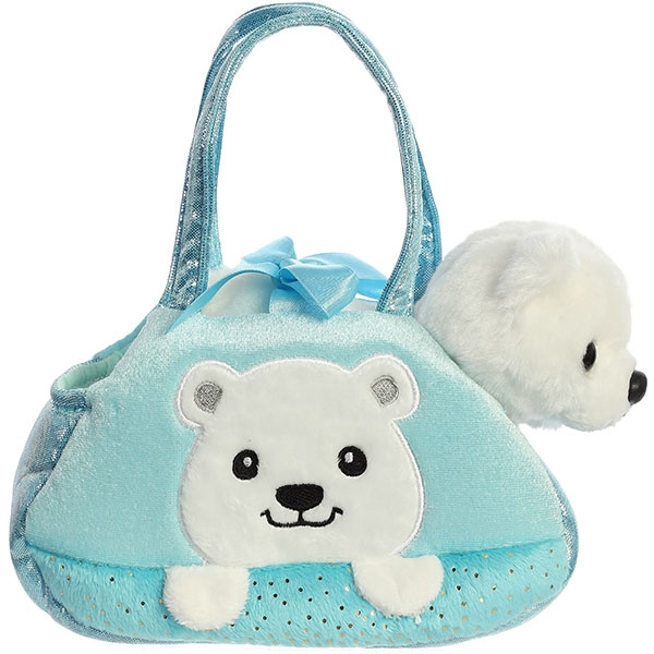 PET CARRIER POLAR BEAR