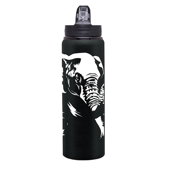 BOTTLE ELEPHANT BLACK