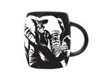 MUG ETCHED ELEPHANT